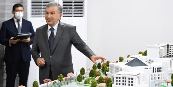 ساخت مرکز تجاری بین المللی ترمذ در مرز مشترک ازبکستان و افغانستان