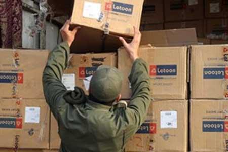 کشف 2 میلیارد تومانی کالای قاچاق در بزرگراه آزادگان ، 5 نفر دستگیر شدند