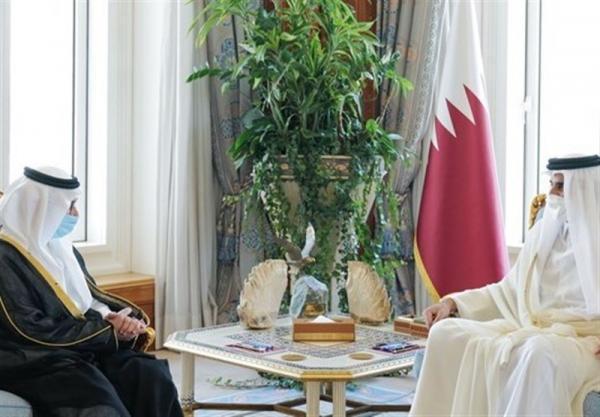 سفیر عربستان پس از 4 سال قطع روابط استوارنامه خود را تقدیم امیر قطر کرد