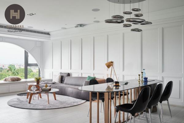 طراحی سبک کلاسیک در دکوراسیون داخلی منزل